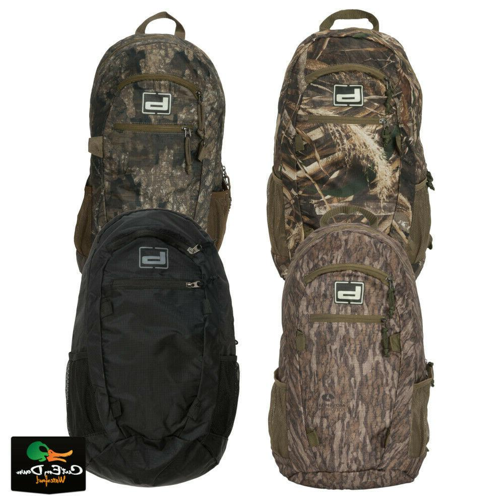 new gear packable back pack camo hunting