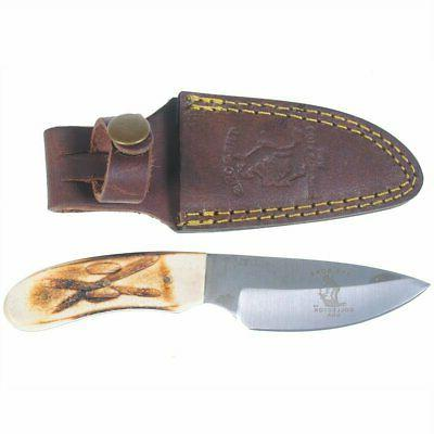 new hand made skinning knive hunting knife