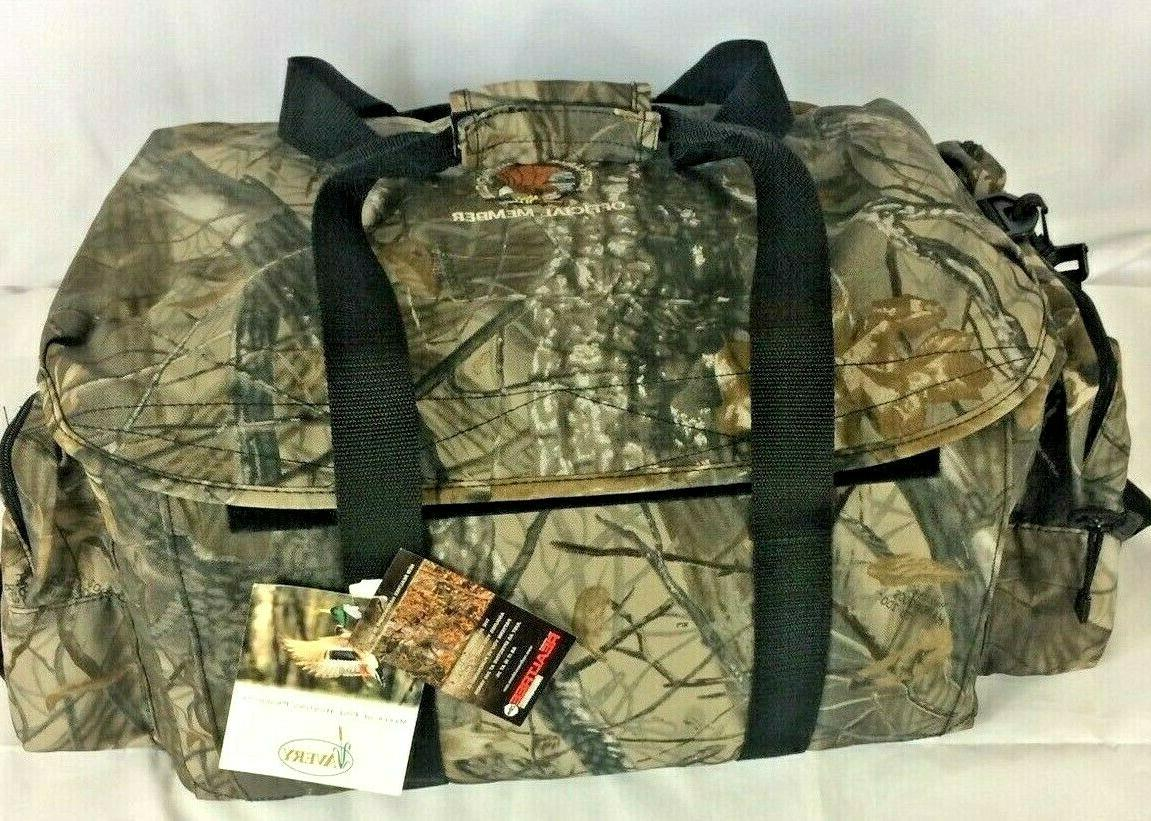 new hunting duffle bag outdoors realtree camo