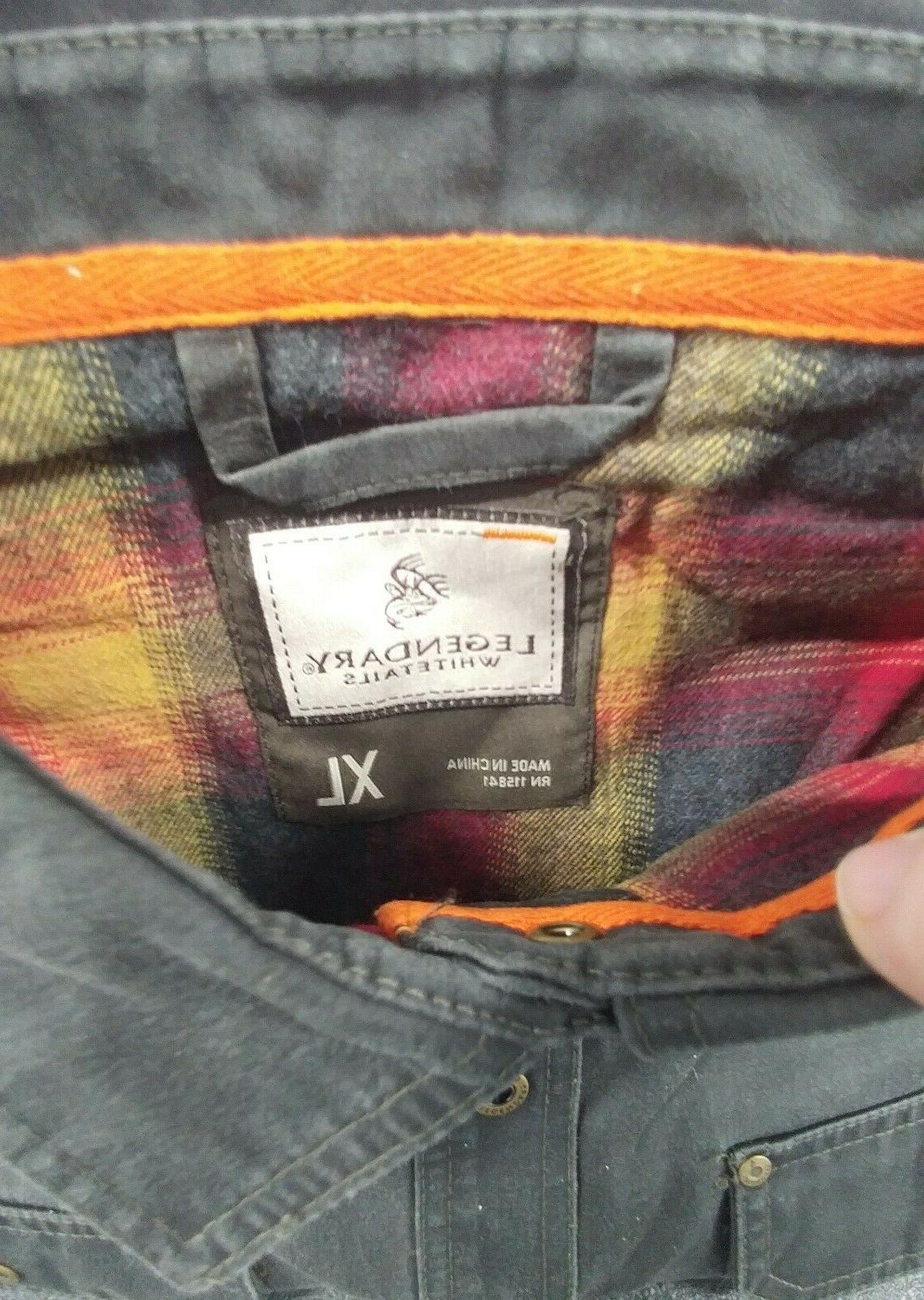 NEW Journeyman Flannel Lined Rugged XL Shirt