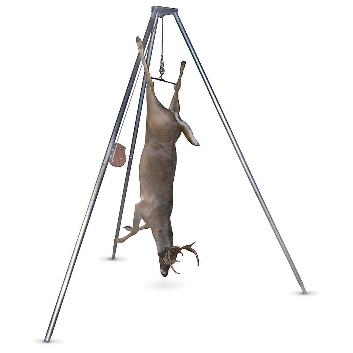 new portable game hanger hoist tripod 500