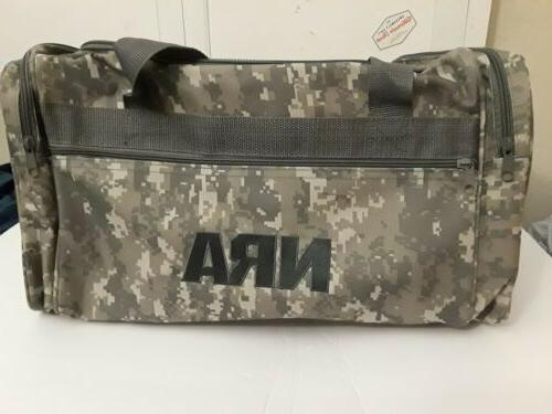 NRA Camo Hunting Range Equipment Gear Travel