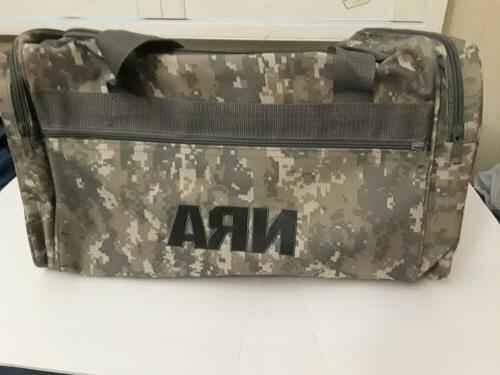 NRA Camo Range Equipment Duffle Bag