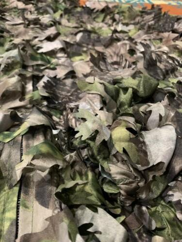 NWOT🔥 Mountain 3D Leafy Ghillie Hunting Camo Lightweight Jacket L