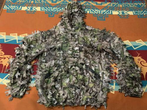 nwot 3d leafy ghillie hunting camo lightweight