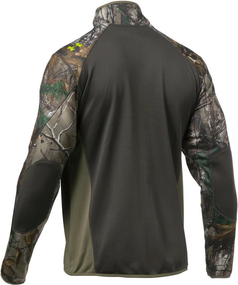 NWT Armour ColdGear Scent Control Jacket Camo Hunting