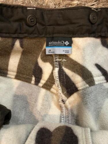 NWT Performance Gear PHG Wool Camo Pants XL