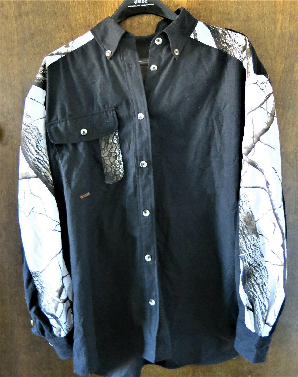 original deer gear mens hunting camo shirt