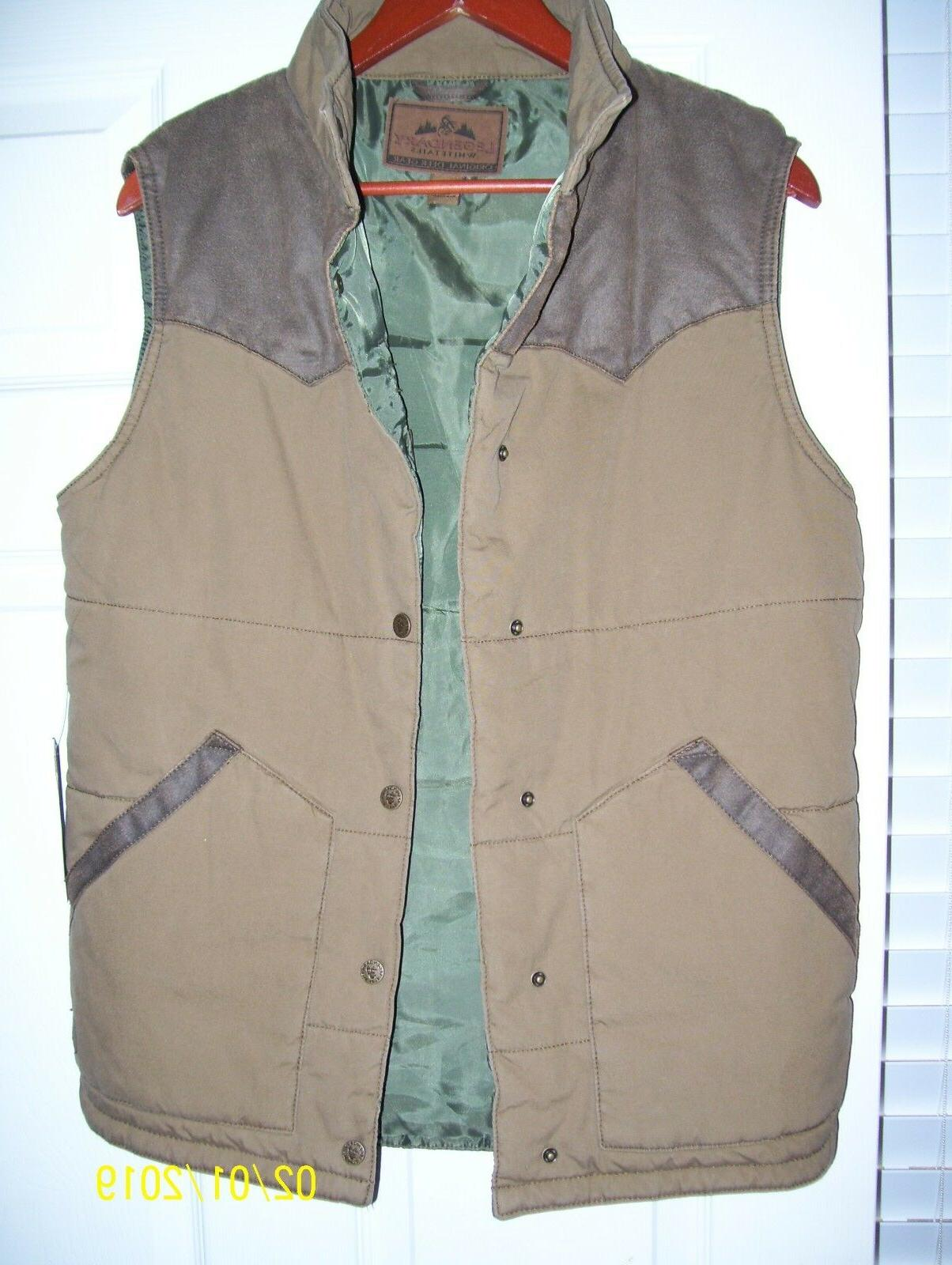 original deer gear vest size small nwt