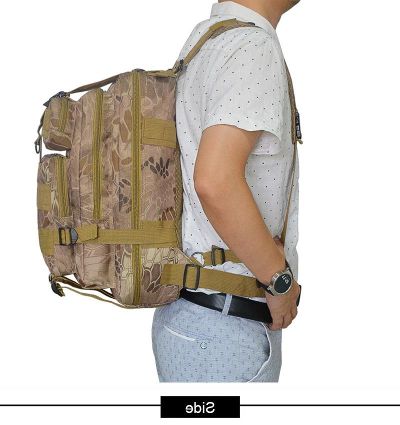 Outdoor 3P Military Molle <font><b>Gear</b></font> Trekking Climbing
