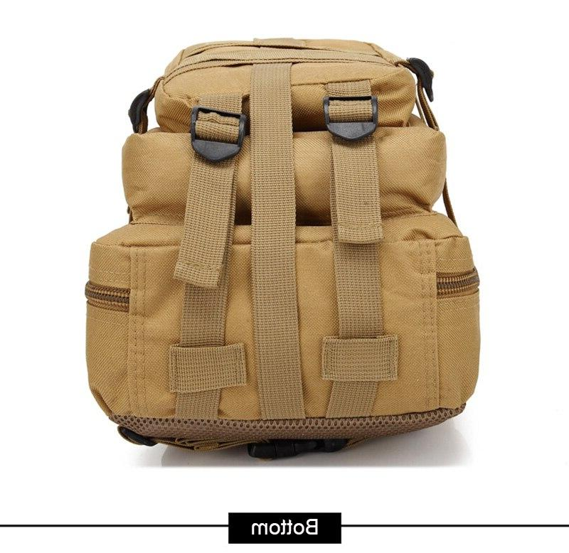 Outdoor Military <font><b>Gear</b></font> Bag <font><b>Waterproof</b></font> Hiking Trekking