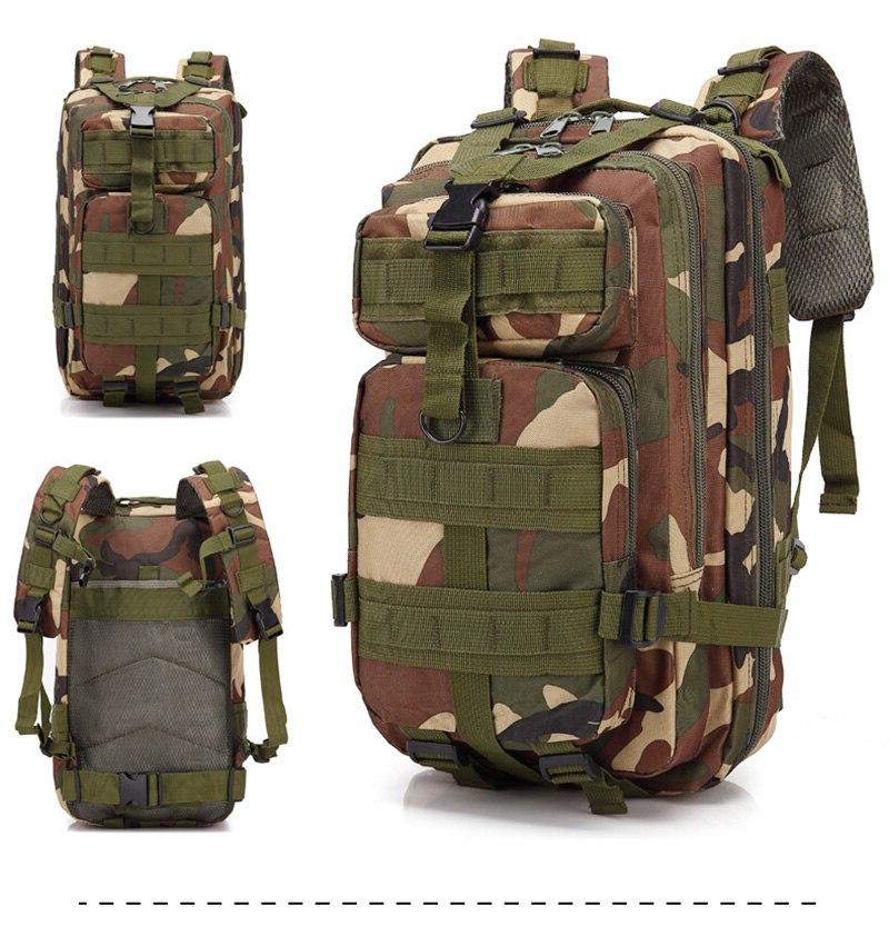 outdoor 3p tactical backpack military army molle