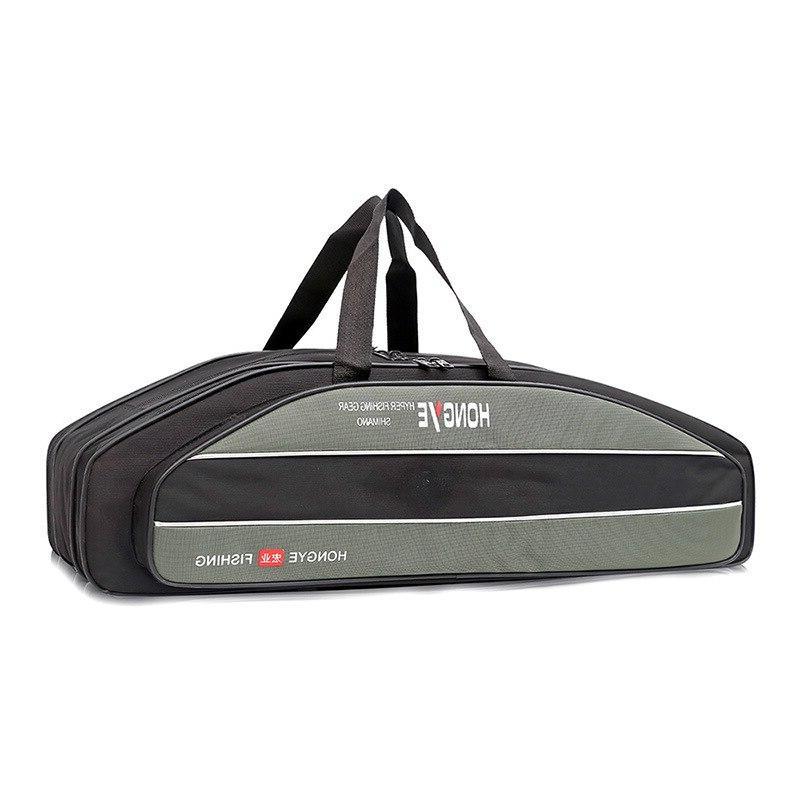 Outdoor Shoulder Fishing <font><b>Backpack</b></font> Bag Gun Multi-function Portable Fishing Bag