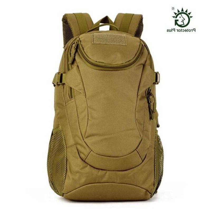Outdoor Military Backpack <font><b>Gear</b></font> 20L Tactical Student Bag for Camping Trekking