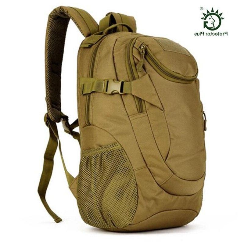 Outdoor Military Backpack Rucksack <font><b>Gear</b></font> Tactical Student Bag for Trekking