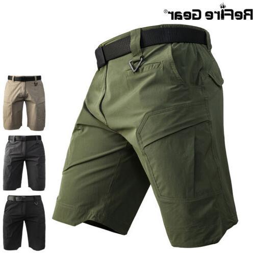 outdoor hunting cargo shorts men multi pocket