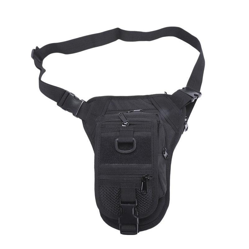 outdoor multifunctional waist bag hiking drop leg