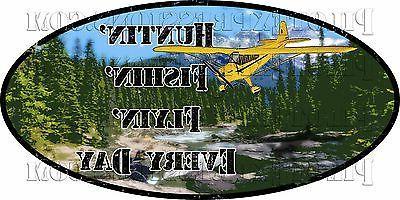 outdoor sports gear hunting fishing flying vinyl