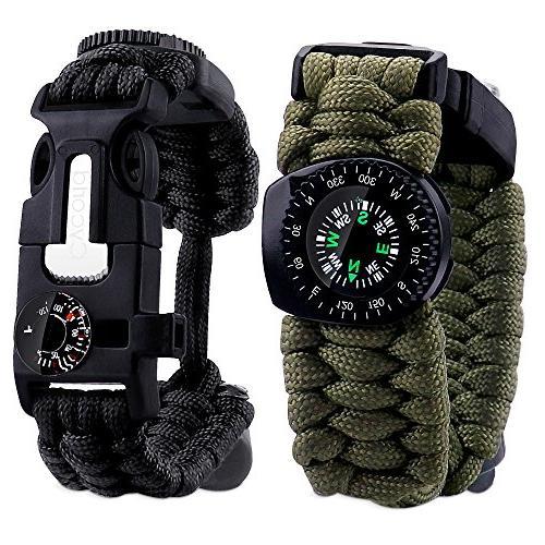 paracord bracelet tactical survival gear
