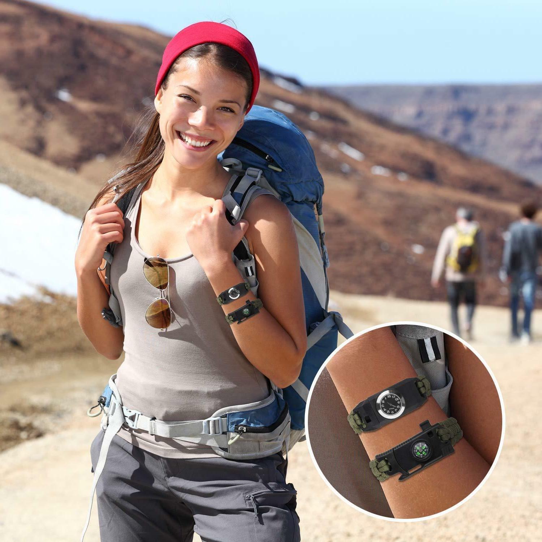 Meetrip Bracelet,Hiking Camping Hunting