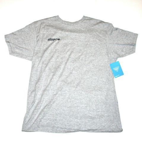 Columbia Short Sleeve Graphic Mens Blue