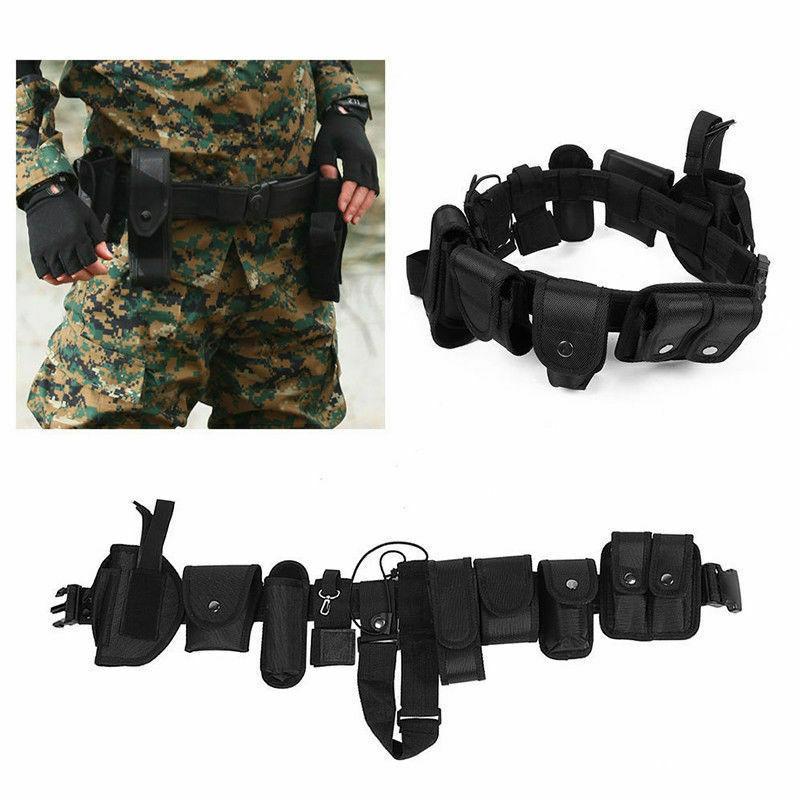 Police Officer Law Equipment Duty Nylon Belt Rig Gear
