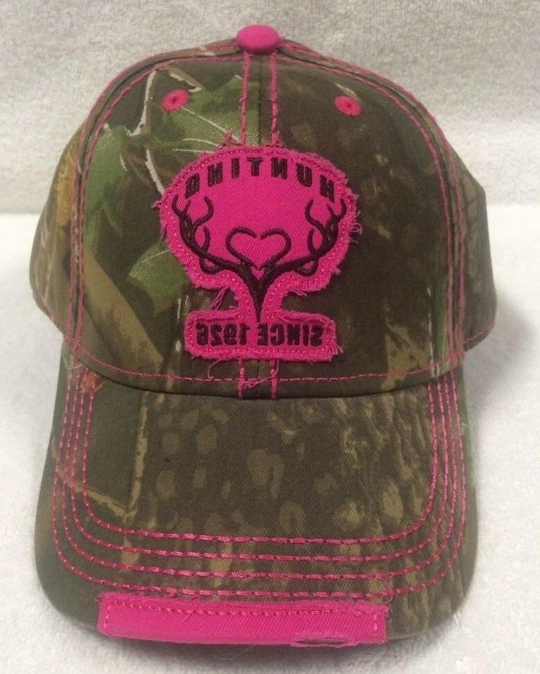 premium camouflage hunting since 1926 baseball hat