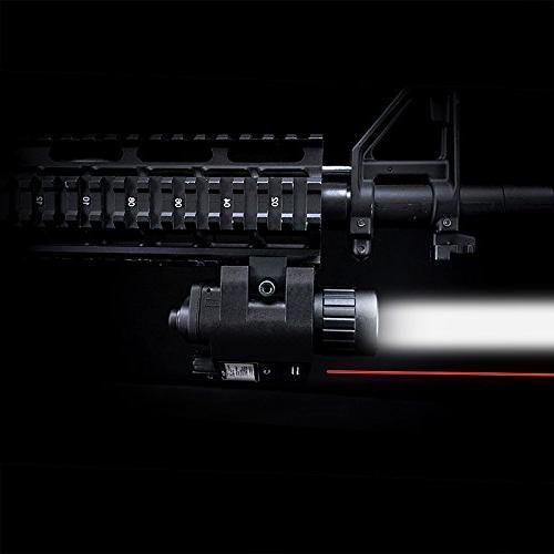 BARSKA Red Laser with 200 Lumen