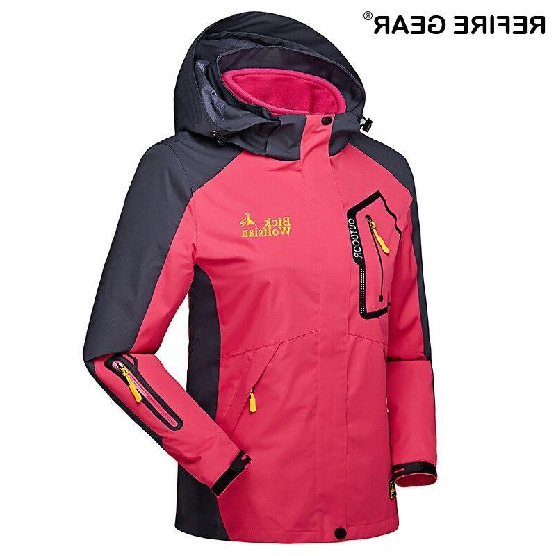 ReFire <font><b>Gear</b></font> <font><b>Hunting</b></font> Clothes Warm Windbreaker Waterproof Coats Skiing Camping <font><b>Jacket</b></font>