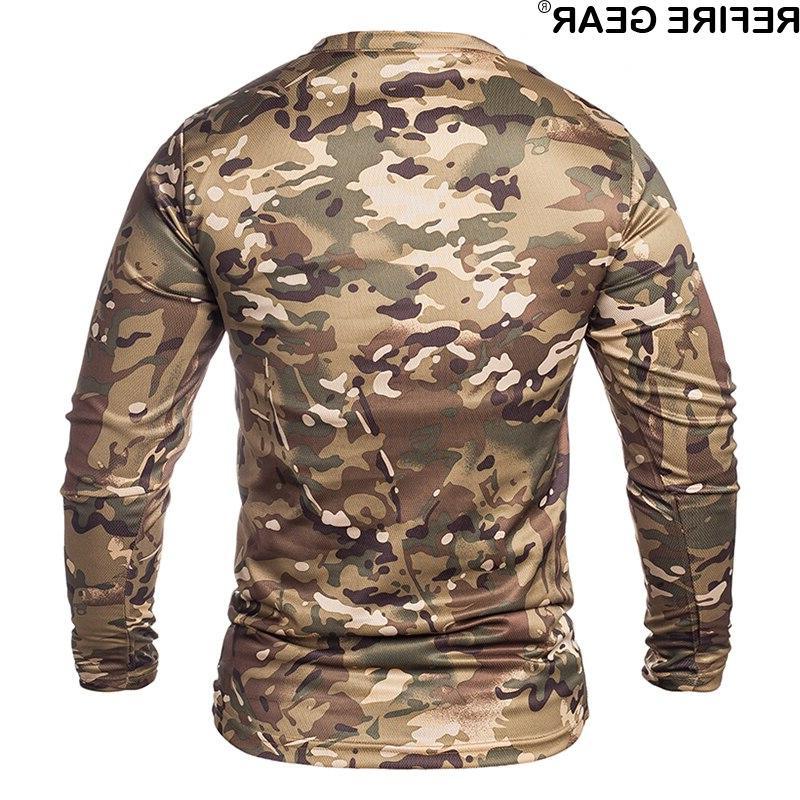 ReFire Sleeve Camouflage <font><b>Men</b></font> Quick Dry Neck Camo <font><b>Hunting</b></font> Hiking Camping