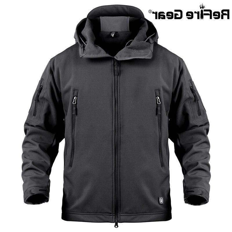 ReFire Waterproof Tactical Military Windbreaker Winter Clothes
