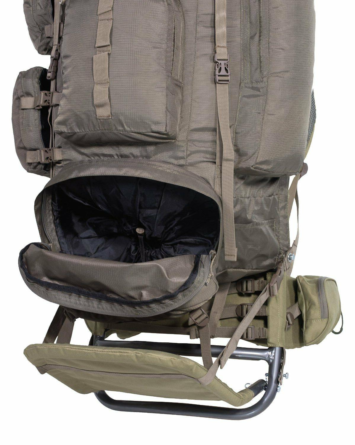 Freighter Back Pack Gear Bag Hydration Camping
