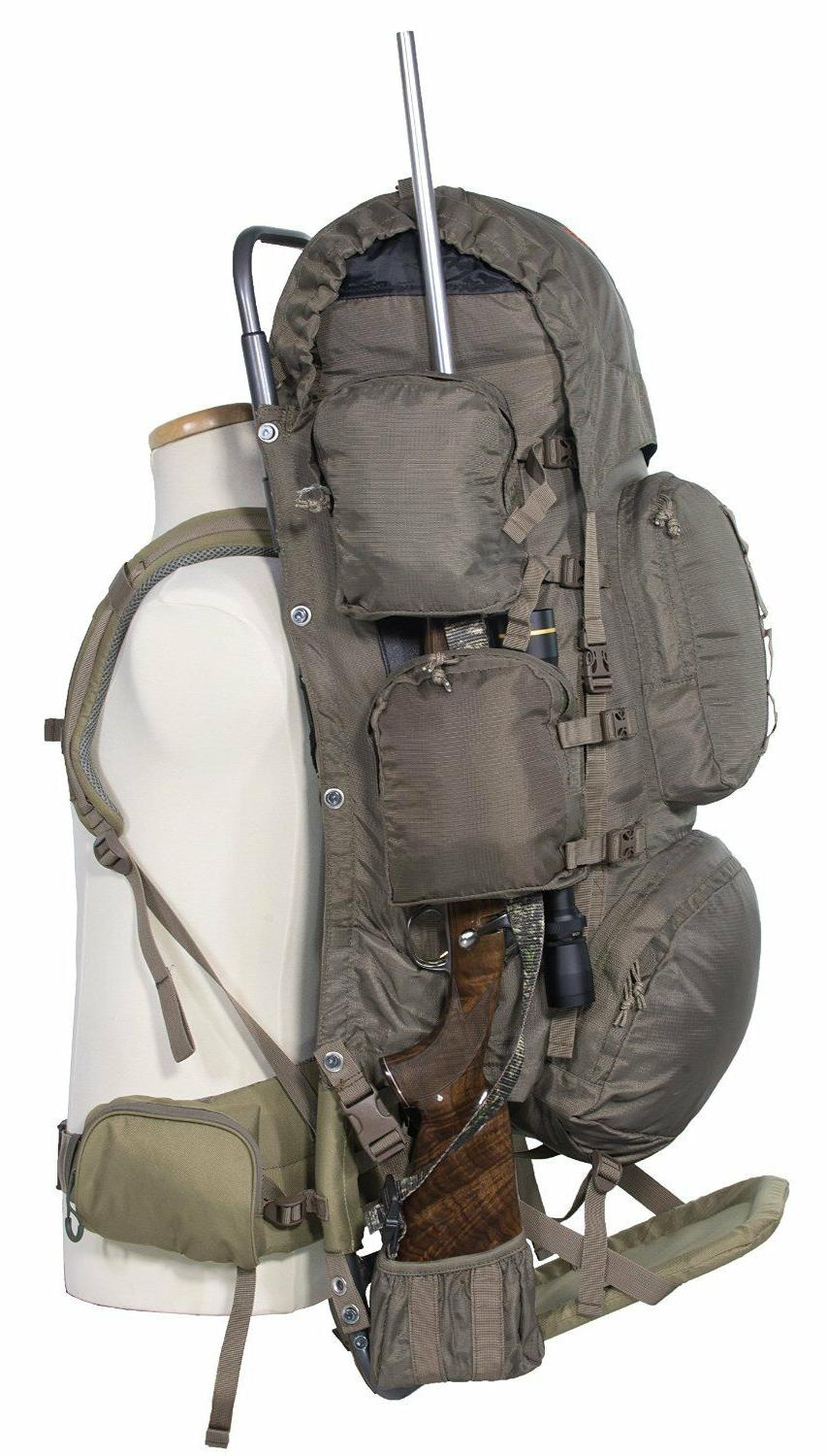 Freighter Frame Pack Gear Bag Hydration Pocket Camping