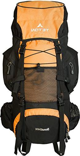scout 3400 internal frame backpack