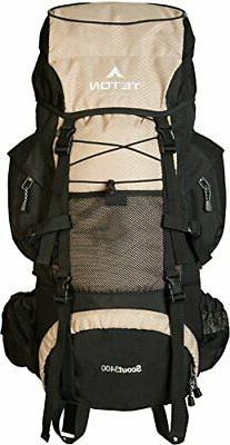 TETON Sports Scout 3400 Internal Frame Backpack; High-Perfor