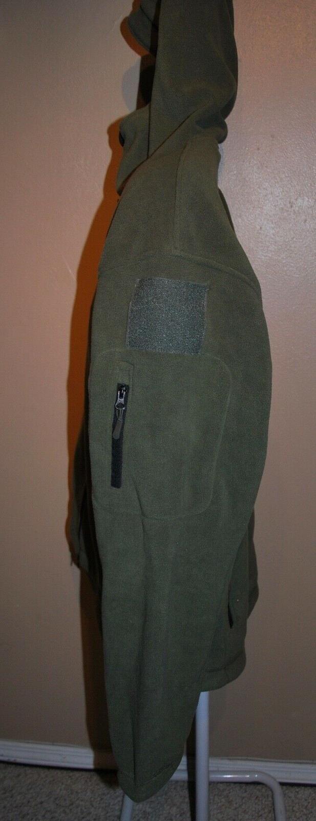 ReFire Shark Tactical Jacket Thermal Fleece Hoodie