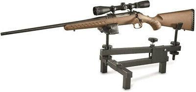 shooting bench rifle gun rest adjustable cradle
