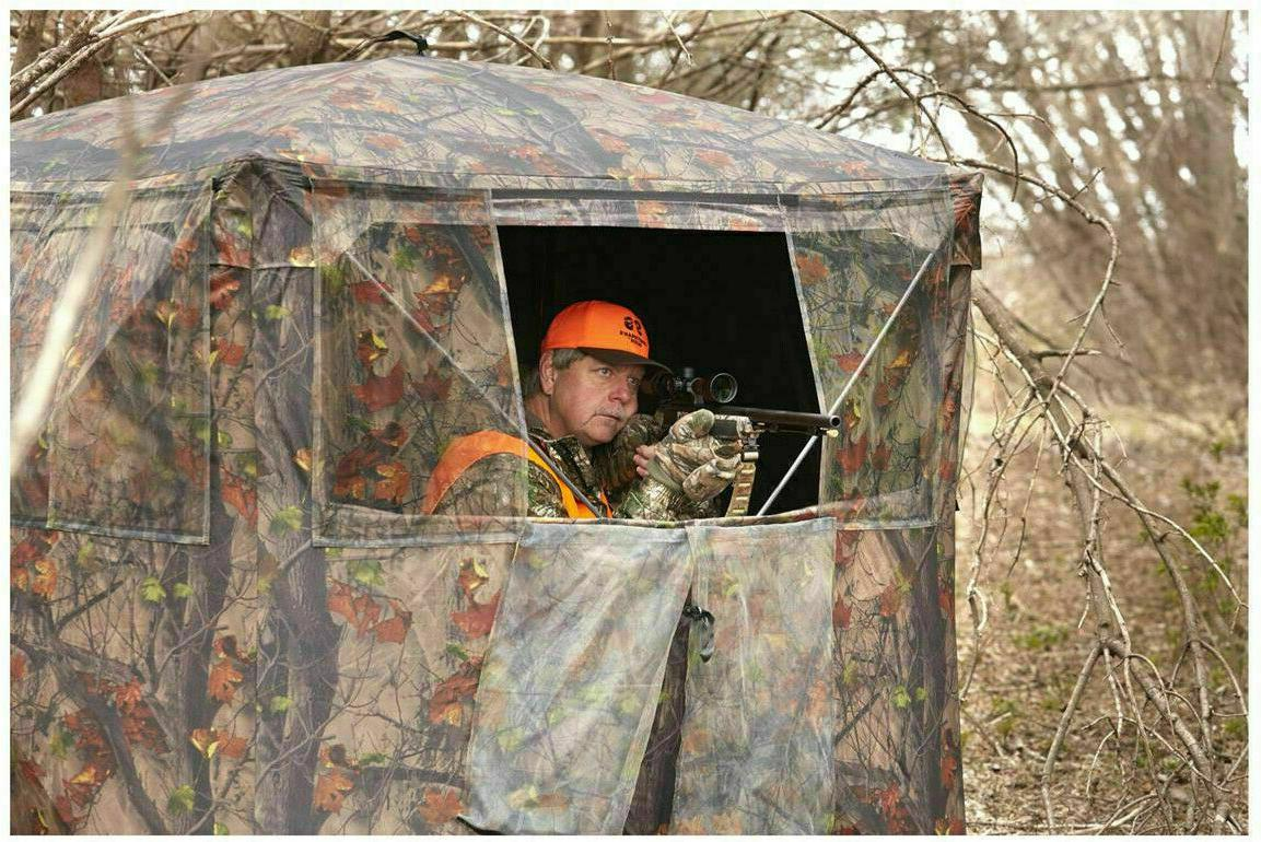 Guide Gear Silent Adrenaline Hunting Blind Big Deer Buck Outdoor NEW!