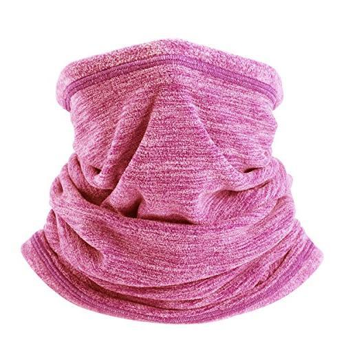 soft fleece neck gaiter warmer face mask