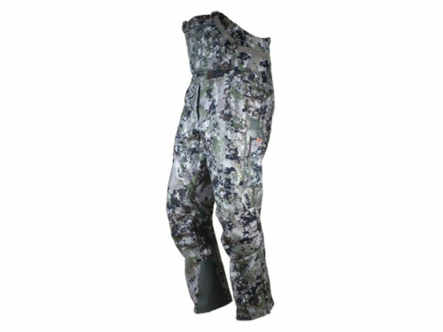 Sitka Gear Men's Stratus Windstopper Bib, Optifade Forest, M