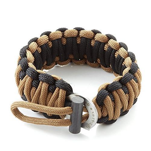 survival paracord 550 bracelet kit