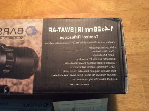 Barska SWAT-AR 30mm Rifle