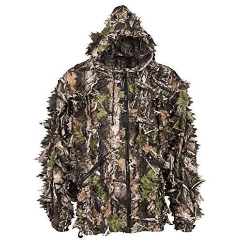 SwedTeam Natural Camouflage Leafy Hunting Suit