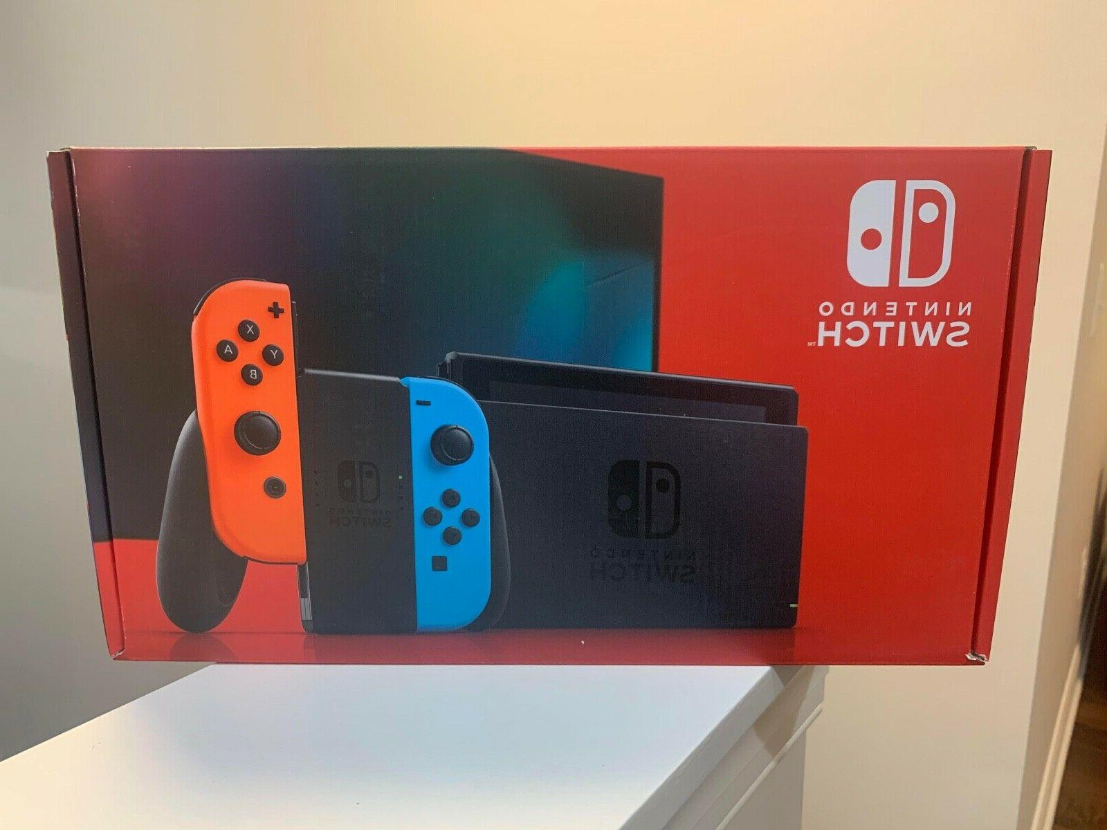 Nintendo Switch Console Neon and Joy 🚚2