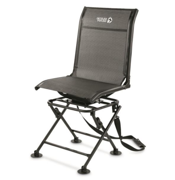 Admirable Guide Gear 360 Degree Swivel Hunting Blind Chair Inzonedesignstudio Interior Chair Design Inzonedesignstudiocom