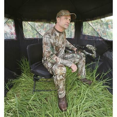 Guide Gear Hunting Chair Black Oversized Backrest