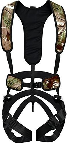 Hunter Safety System Camo X-1 Bowhunter Harness-L/XL - X-1