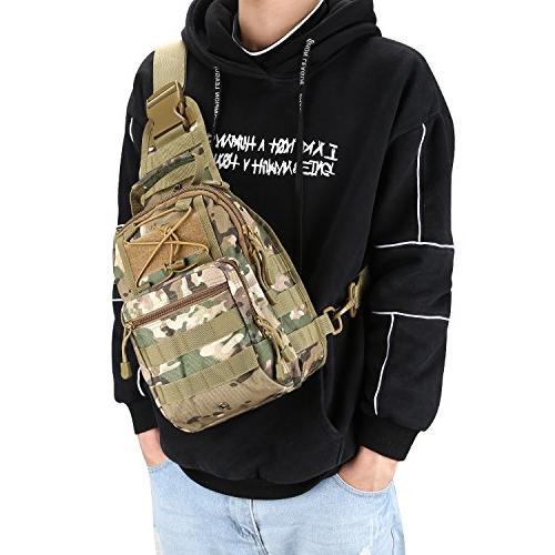 G4Free Sport Pack Shoulder Backpack for Trekking,Rover Sling Pack