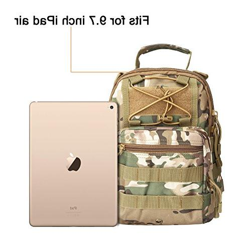 G4Free Outdoor Backpack,Military Sport for Camping, Sling Chest