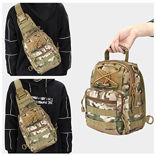 G4Free Outdoor Sport Backpack for Sling Pack Chest Pack